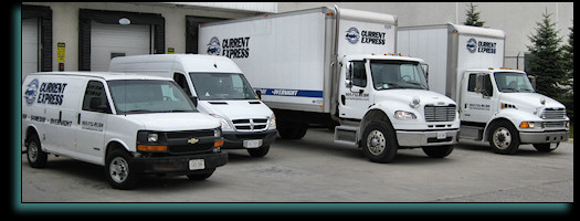Large Truck Delivery Service Capability
